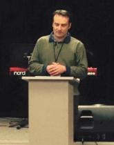 Joe preaching